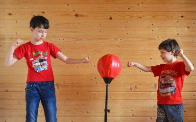 Sacos de boxeo para niños