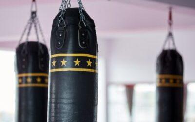 Sacos de boxeo con soporte